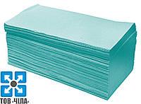Бумажные полотенца зеленые V-складка (200 шт/уп)