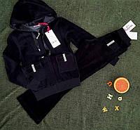 Велюровый спортивный костюм-двойка для девочек Setty Koop 170 рост