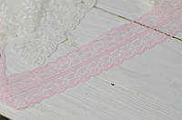 Кружево синтетическое 4.5см*1м. розовое, фото 1