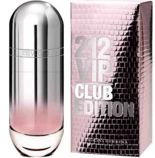 Женская туалетная вода Carolina Herrera 212 vip Club Edition Woman, 80 мл