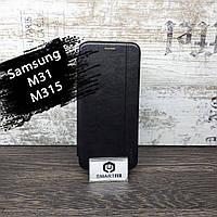 Чехол книжка для Samsung M31/M315 Gelius Черный