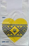 Пакет майка Патриот 30*50 Еколан