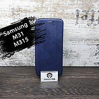 Чохол книжка для Samsung M31/M315 Gelius Темно-синій