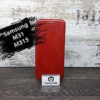 Чохол книжка для Samsung M31/M315 Gelius Червоний