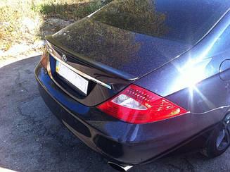 Спойлер на кришку багажника Mercedes CLS-class W218