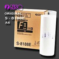 Мастер-пленка для ризографа RISO (S-8188E) RZ,MZ,EZ,SF,SF II, (295 кадров), формат А4