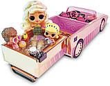 ЛОЛ Сюрприз Машина кабриолет с куклой 3 в 1 L.O.L. Surprise! Car-Pool Coupe, фото 3