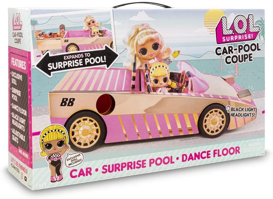 ЛОЛ Сюрприз Машина кабриолет с куклой 3 в 1 L.O.L. Surprise! Car-Pool Coupe