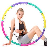 Масажний хулахуп для схуднення та корекції талії Massage Hoop 1108 діаметр 96 см, масажний обруч,масажер