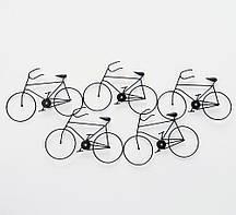 Настенная фигура Велосипеды W 76 см, L 2 см металл Гранд Презент 2003165