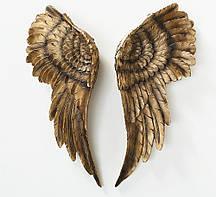 Настенный декор Крылья ангел комплект, W 6 см, L 22 см полистоун Гранд Презент 2001147