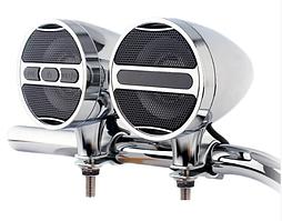 Мотоакустика Aoveise MT473 хром с Bluetooth 2x20W