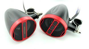 Мотоакустика Aoveise MT473 черно-красная с Bluetooth 2x20W