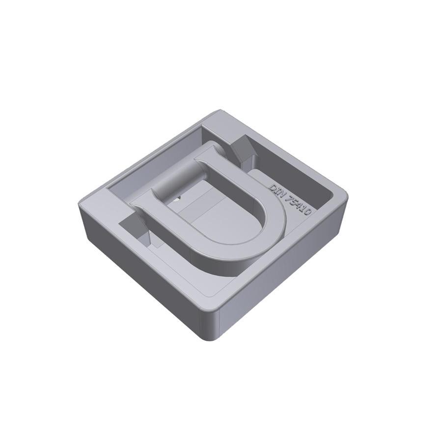 Врізне Кільце для кріплення вантажу сталь польща