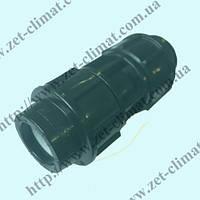 Муфта соединительная для полиэтиленовой трубы равная (20 мм.)