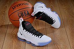 "Кроссовки Nike LeBron 16 ""Белые"""