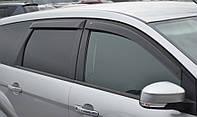 Дефлекторы окон Ford Focus II Wagon 2004-2011 | Ветровики Форд Фокус