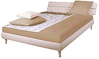 Кровать 1,6х2 Бизе, ткань Сидней 11 ТМ АМФ