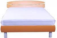 Кровать 1,6х2 Кэнди (МДФ), оранж металлик ТМ АМФ