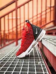 """Кроссовки Nike LeBron 16 """"Красные"""""""