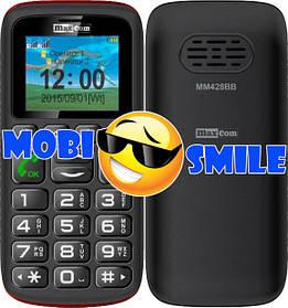 Телефон Maxcom MM428 Black Гарантія 12 місяців
