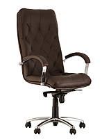Кресло для руководителей CUBA steel chrome, фото 1