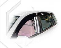 Ветровики Форд Фьюжен | Дефлекторы окон Ford Fusion Hb 5d 2002
