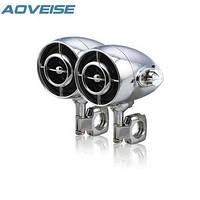 Мотоакустика Aoveise MT485 цельнометалическая, хром 2х80W