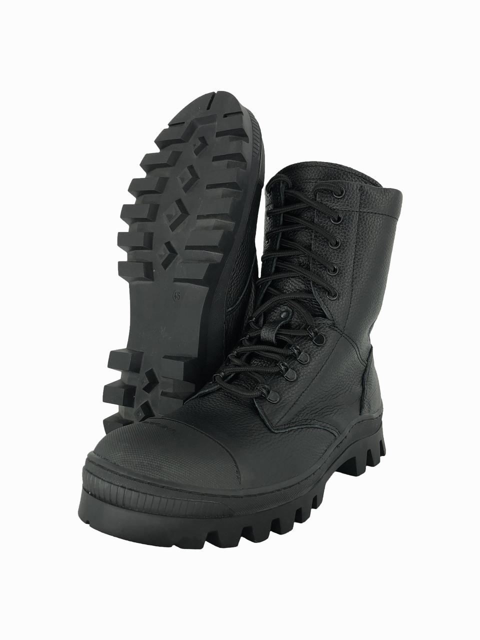 Черевики-Берці тактичні високі зимові FERRUM чорні