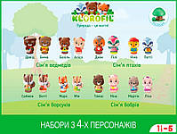 Дитячий ігровий набір з 4-х персонажів сім'я панд Krorofil (700304F), фото 6