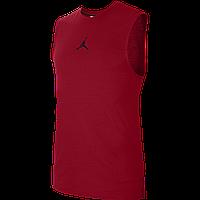Майка баскетбольная мужская Nike AIR TOP размер L, XL полиэстер красная (CU1024-687), фото 1