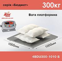 Весы платформенные складские 4BDU300-1010-Б