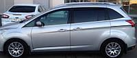Ветровики Форд Гранд Си-Макс | Дефлекторы окон Ford Grand C-Max II 2010