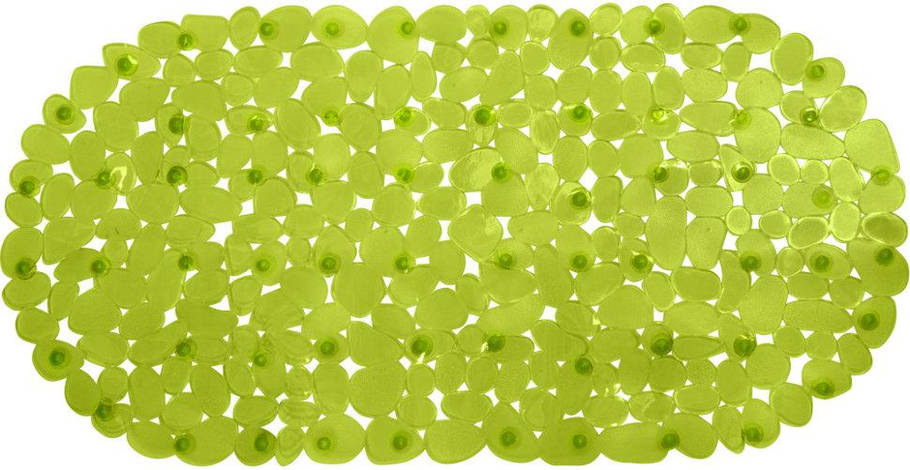 Коврик для ванны противоскользящий Trento Stone желто-зеленый, фото 2