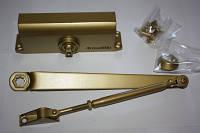 Доводчик дверной Armadillo LY4 до 85 кг Цвет: Золото