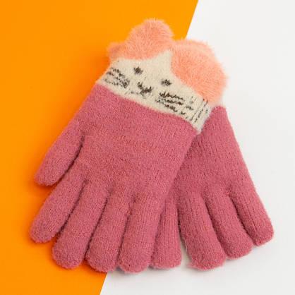 Оптом рукавички від 12 років для дівчаток зимові (арт. 20-25-20), фото 2