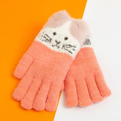 Оптом рукавички від 12 років для дівчаток зимові (арт. 20-25-20), фото 3