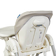 Стульчик для кормления Dolce M 3236 Smart Gray Гарантия качества Быстрая доставка, фото 6