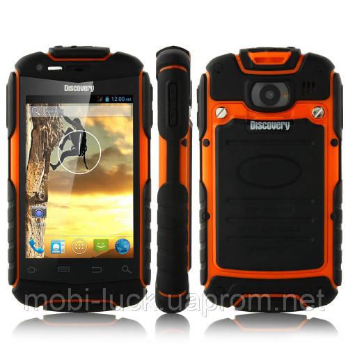 Смартфон DISCOVERY V5 Android 4.противоударный водонепроницаемый. 2sim