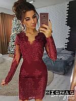 Элегантное кружевное платье