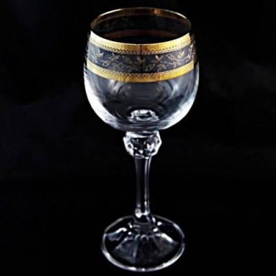 Рюмки для ликера Bohemia Julia Gold 40428/43081/60 60 мл 6 шт, фото 2