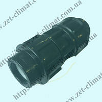 Муфта соединительная для полиэтиленовой трубы равная (110 мм.)