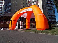 Надувной шатер тент рекламный