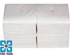 Салфетки бумажные 24*24 однослойные (500 шт/уп)
