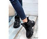 Зимние  спортивные кроссовки на липучках, фото 5