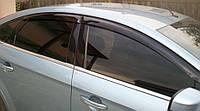 Ветровики Форд Мондео | Дефлекторы окон Ford Mondeo IV Sd 2007-2013