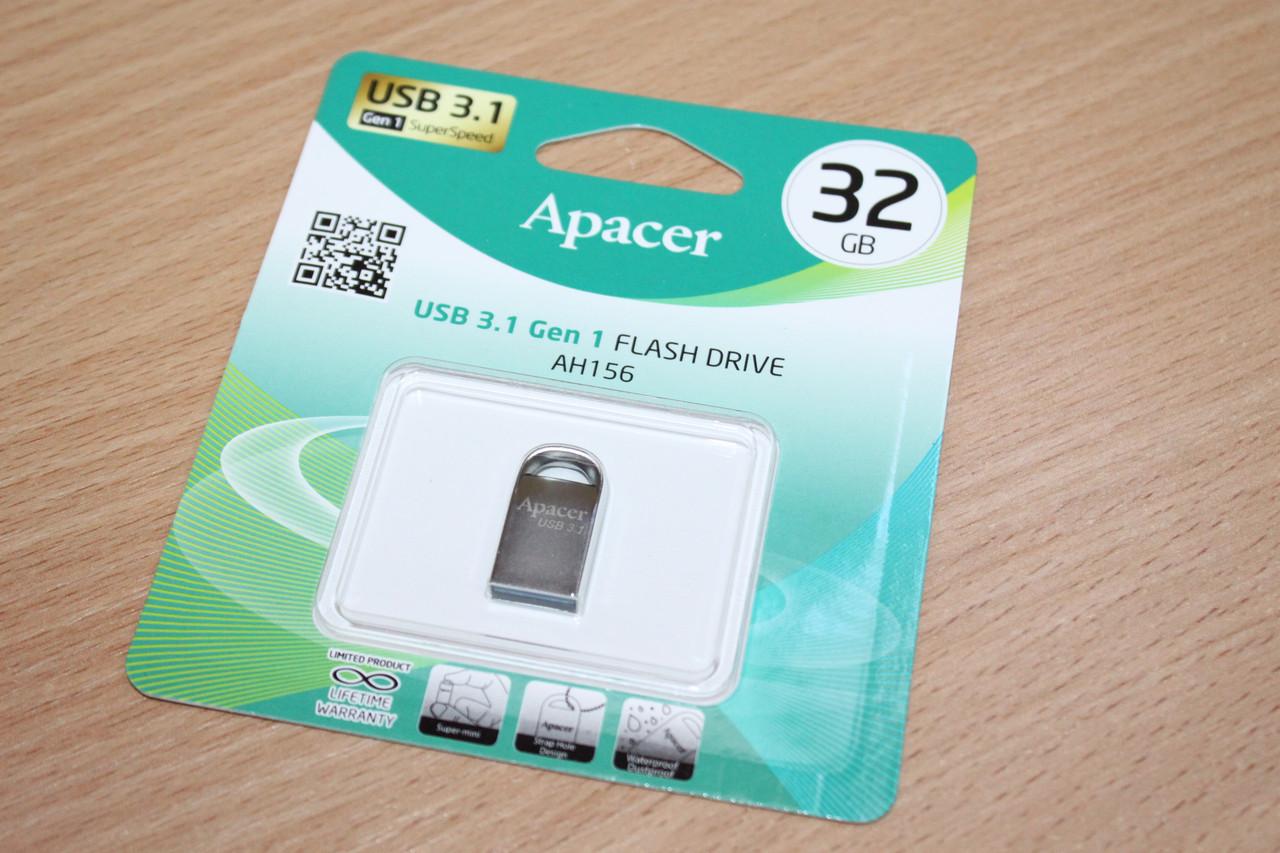 Флешка USB 3.0 Apacer AH156 32Gb ashy
