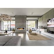 Биокамин белый S-Line 3D 120x40cm серии Nice-House, фото 9