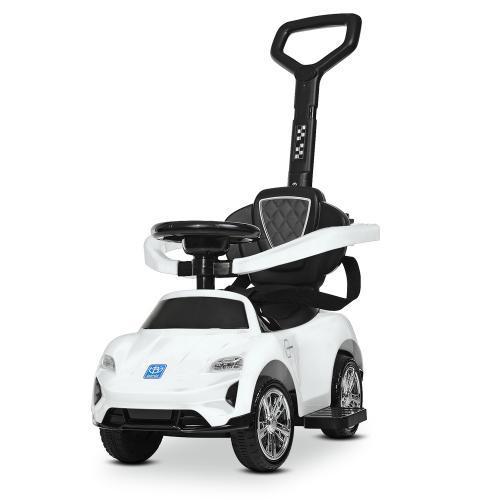 Детский электромобиль каталка толокар Bambi M 4290-1, белый