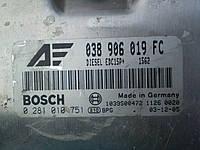 VAG 038 906 019 FC Блок упраления дизельного двигателя Alhambra Sharan, фото 1